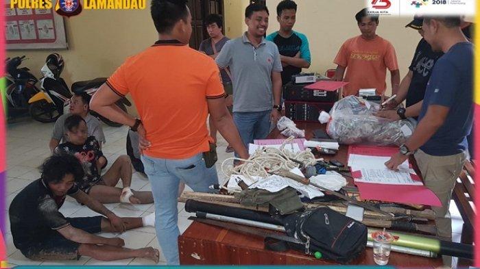 Begini Kondisi Kawanan Pencuri Sarang Walet di Lamandau Usai Ditangkap Polisi