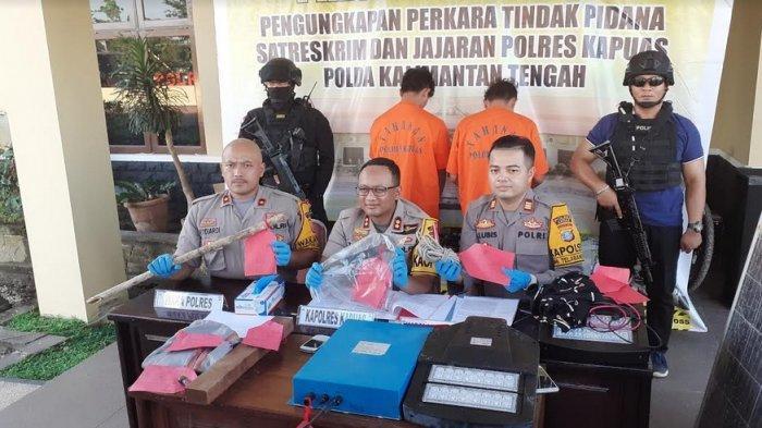 Pencurian Lampu PJU Trans Kalimantan Digagalkan Polisi, Pelaku Sebelum Sempat Beraksi di Lain Tempat