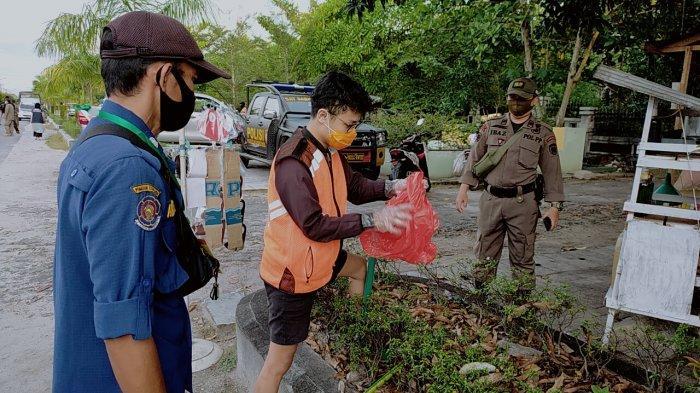Sebaran Virus Corona Paling Tinggi di Kalteng, Satgas Palangkaraya Gencarkan Razia Masker