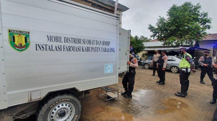 Ribuan Vaksin Covid-19 Sinovac Didistribusikan ke Puskemas di Tabalong