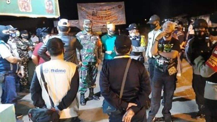Petugas Gencar Lakukan Pengawasan Protokol Kesehatan di Palangkaraya