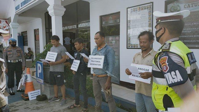 Pengendara di Sampit Terjaring Operasi Yustisi Satlantas Polres Kotim Kalteng, ini Sanksinya
