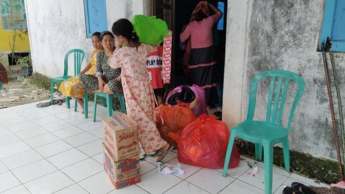 Pengungsi Banjir di Batola Kalsel Mulai Pulang ke Rumah