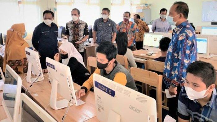 Jelang Asesmen Nasional, Disdik Kapuas Gelar Try Out Asesmen Berbasis Komputer Bagi Siswa SD dan SMP