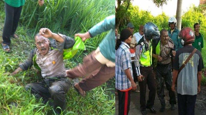 Menyamar Jadi Polisi Tapi Ketahuan Mau Merampok, Dua Pria Ini Masak Dihajar Warga
