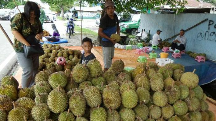 Buruan ke Palangkaraya, Lagi Banjir Durian Kasongan