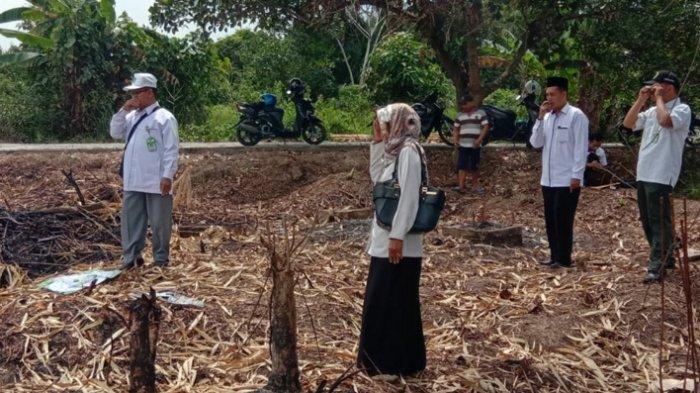 Perlu untuk Mengukur Arah Kiblat, Penyelenggara Syariah Kapuas Siap Turun ke Lapangan untuk Membantu