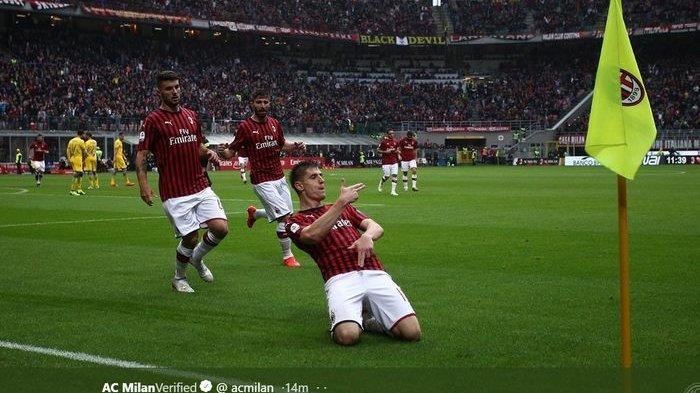 Liga Italia - Asa ke Zona Liga Champions, AC Milan Andalkan Piatek Kontra SPAL
