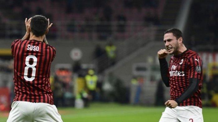 Liga Italia, AC Milan Vs SPAL Berakhir dengan Skor 1-0, Suso Bawa Kemenangan untuk Stefano Pioli