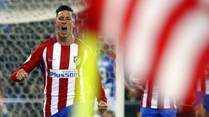 Cetak Dua Gol, Fernando Torres Antar Kemenangan Atletico Madrid