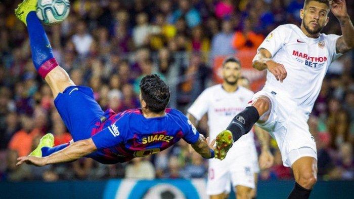 Liga Spanyol, Barcelona Vs Sevilla, Tuan Rumah Blaugrana Menang Telak, Lionel Messi Cetak Gol