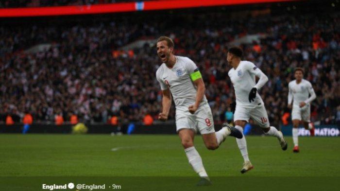 Inggris ke Semifinal Usai Tekuk Kroasia di Uefa Nations League 2018