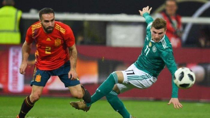 Jadwal UEFA Nations League 2020, Big Match Jerman Vs Spanyol Live Streaming Mola TV