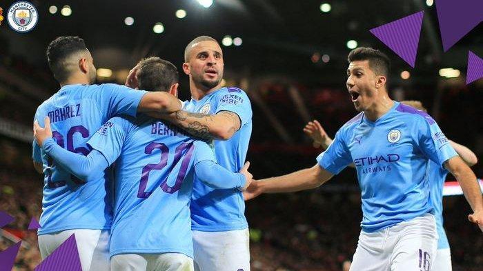 Hasil Piala Liga Inggris Man City Vs Man United - The Citizens Hancurkan The Red di Old Trafford