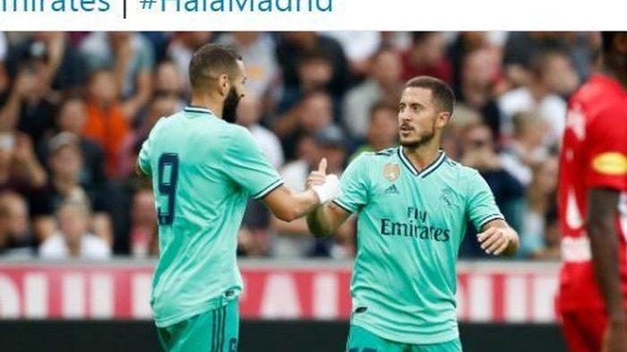 Real Madrid Menang Lagi Lewat Gol Tunggal Eden Hazard Kala Kontra Red Bull Salzburg di Laga Pramusim