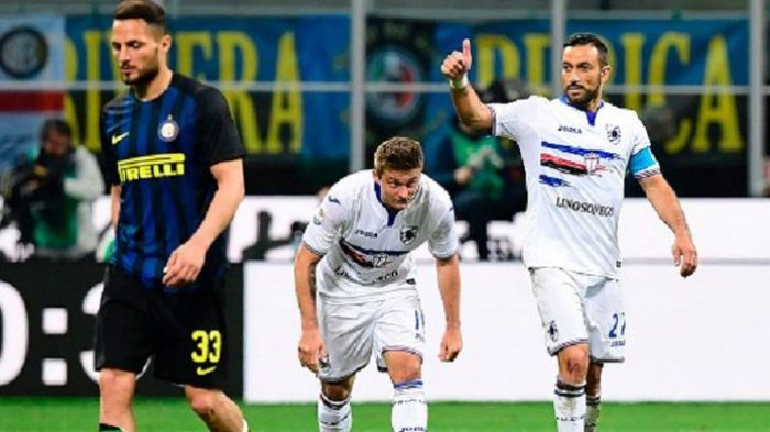 Sampdoria Permalukan Inter Milan di Kandangnya
