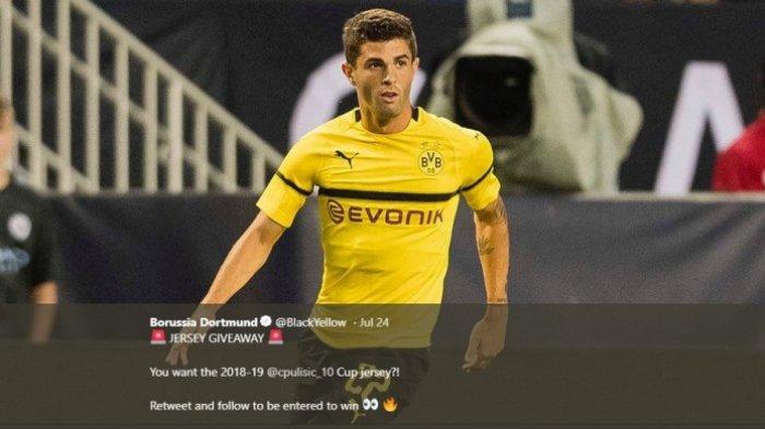 Pemain Asal Amerika Serikat di Borussia Dortmund Itu Sudah Impikan Bermain di Liga Inggris