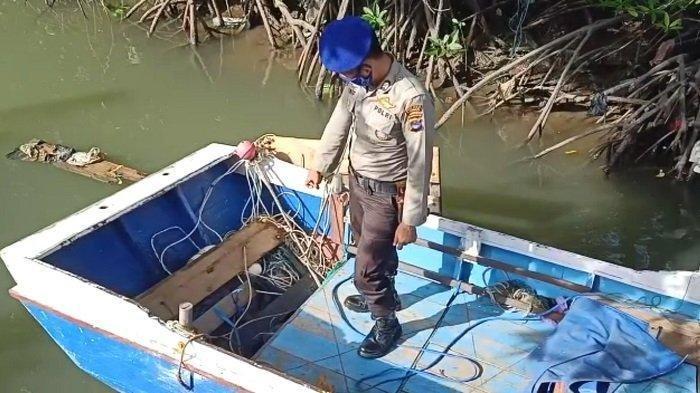 Ditemukan Meninggal di Atas Perahu, Nelayan Kotabaru Ini Diduga Terjerat Tali