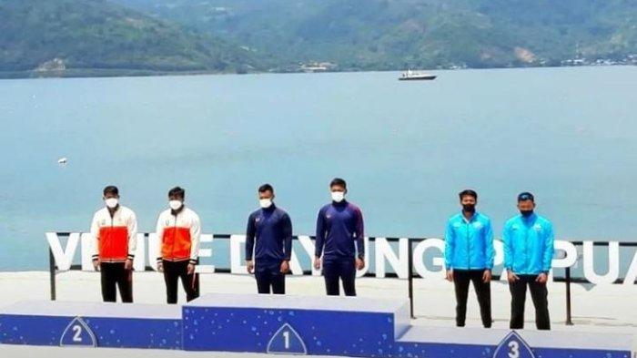 Belum Resmi Dibuka, Kalteng Sudah Raih 1 Perak PON XX Papua dari Cabang Olah Raga Dayung