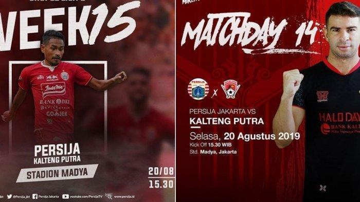 Hasil Persija vs Kalteng Putra di Hasil Liga 1 Hari Ini, Skor Sementara 1-0, Gol Cepat Heri Susanto