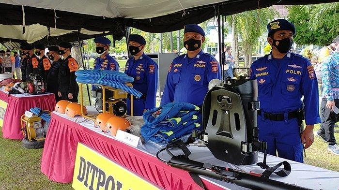 Ratusan Personel Latihan Bersama Penanggulangan Karhutla di Lahan Rawan Terbakar Pulangpisau Kalteng
