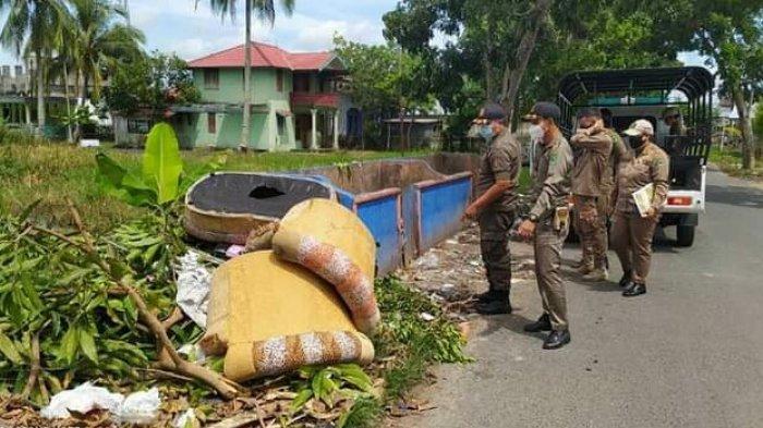 Satpol PP Kapuas Tingkatkan Pengawasan, Ingatkan Warga Tak Buang Sampah Sembarangan