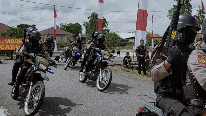 Sepuluh Hari Digembleng Latihan Pengamanan Pilkada, Tim CRT Polda Kalteng Siap Bertugas