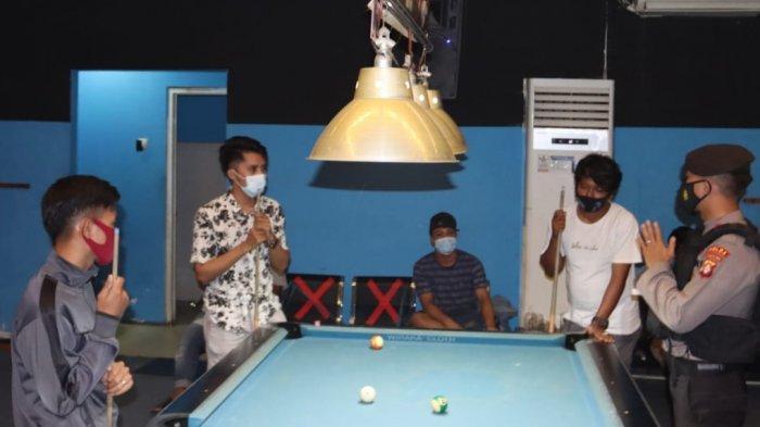 Pengunjung Tempat Hiburan Malam Palangkaraya Kaget Polisi Gelar Operasi Kamtibmas Cipta Kondisi