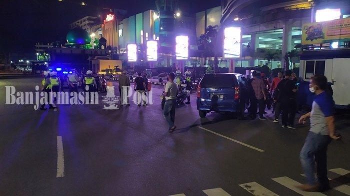 Aksi Tawuran Bikin Tegang Banjarmasin, Personil Polresta Diterjunkan Amankan Situasi