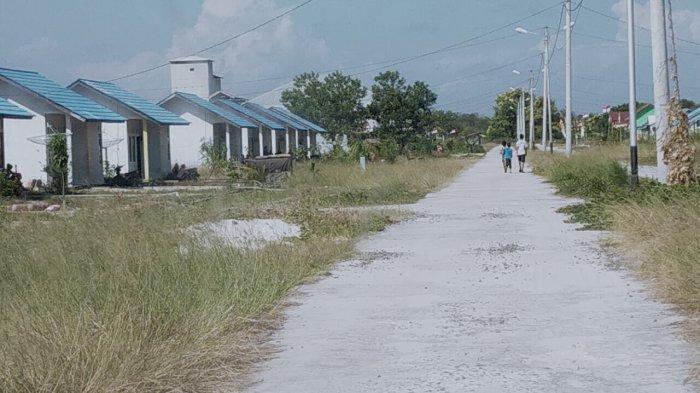 Warga Pesisir Pantai Ujung Pandaran Korban Abrasi Akhirnya Tempati Perumahan Baru