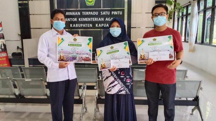 Tiga Peserta Didik MAN Kapuas Kalteng Raih Juara di Lomba HAB