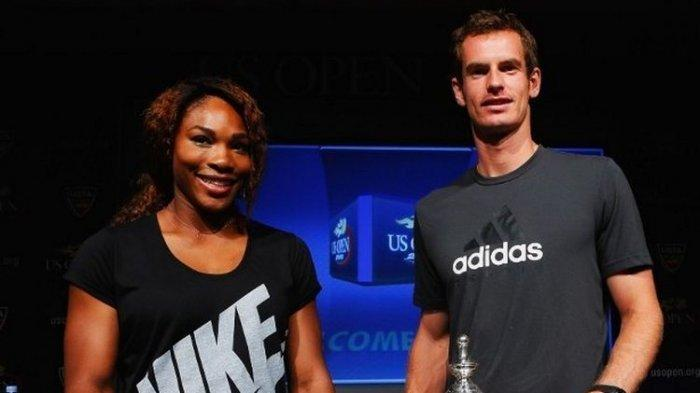Grand Slam Wimbledon 2019 - Andy Murray Akhirnya Pilih Serena Wlilliams Teman Duet Berlaga