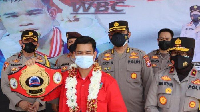 Petinju Kalteng Hamson Lamandau Juara WBC Internasional Diusulkan Jadi ASN Jalur Prestasi