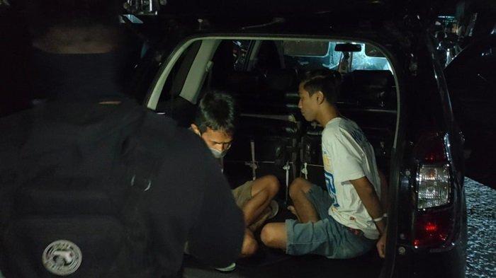 Enam Orang Diduga Pemakai Sabu Terjaring Giat Patroli Petugas Ditsamapta Polda Kalteng
