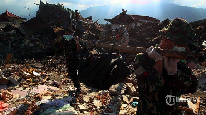 Korban Gempa Sulteng Capai 1.571 Orang, Diperkirakan 1.000 Orang  Lagi Hilang Terkubur