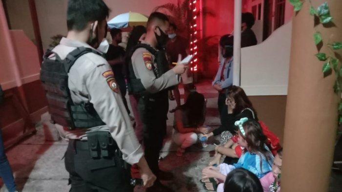 Polda Kalteng Gerebek Wisma Diduga Tempat Prostitusi Terselubung di Jalan Galaxy Palangkaraya