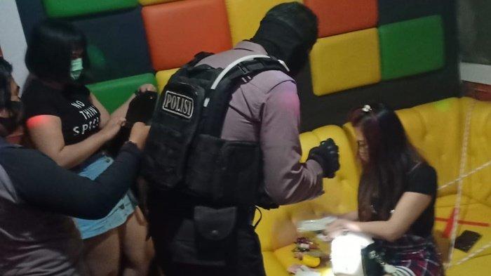 Ditsamapta Polda Kalteng Gencar Razia ke THM Demi Mencegah Penyebaran Covid-19