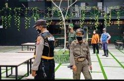 Petugas PPKM Palangkaraya Gencar Operasi Yustisi Siang Malam, Warga Isolasi Mandiri Didata
