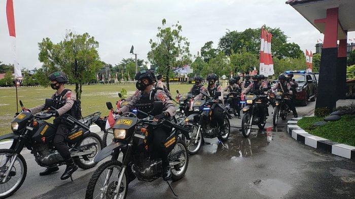 Tim Siaga Karhutla Polda Kalteng Gencarkan Patroli Antisipasi Kebakaran Lahan di Palangkaraya
