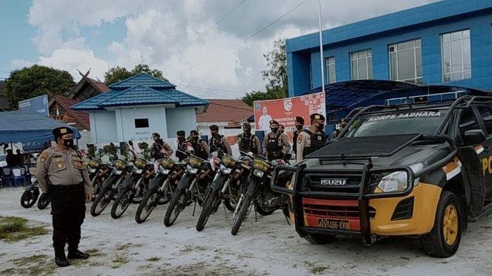 Operasi Cipta Kondisi Razia Narkoba di Palangkaraya Sasar Sejumah Tempat Karaoke
