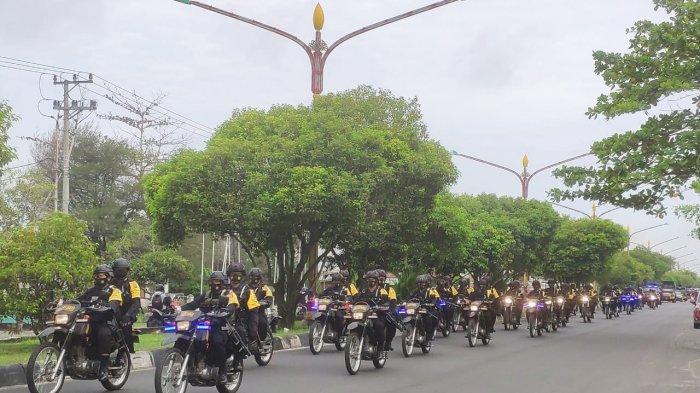 Kapolda Pantau Pengamanan Tahapan Pilkada Kalteng