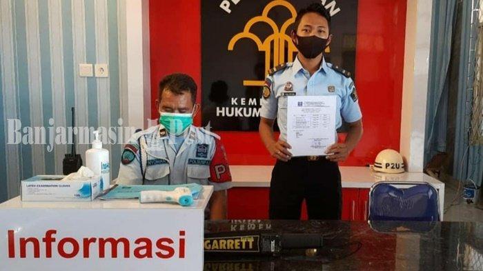 Wabah Corona Kalteng, Berkunjung ke Rutan Kelas IIB Kualakapuas Wajib Patuhi SOP Penerimaan Tamu