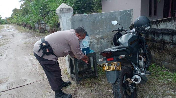 Polisi Sosialisasikan Protokol Kesehatan di Sejumlah Tempat Wisata Palangkaraya