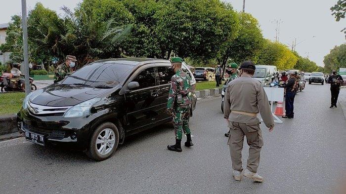Operasi Yustisi di Kawasan Wisata Kuliner Palangkaraya, Satgas Beri sanksi Warga Tak Pakai Masker