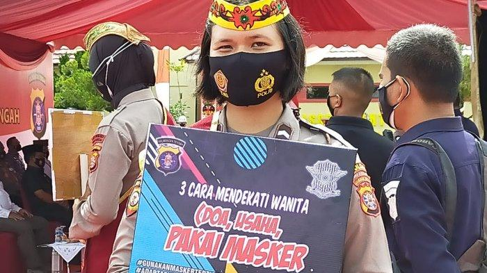 Wabah Corona Kalteng, Satgas Covid-19 Tegur Pedagang Pasar Besar Palangkaraya Tak Bermasker