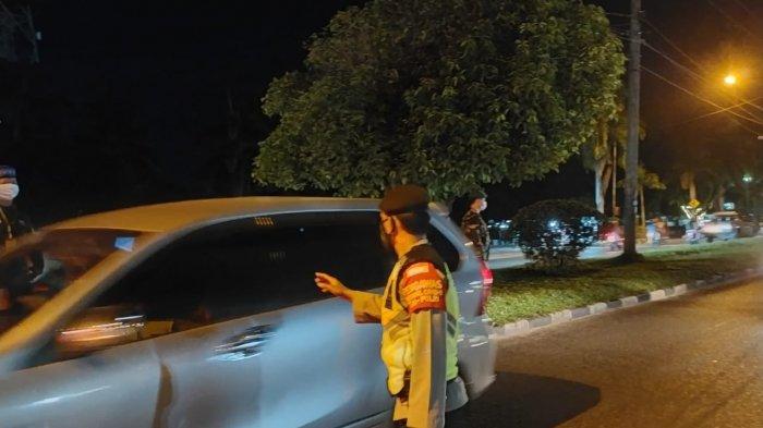 Operasi Yustisi Hingga Tengah Malam, 33 Pengendara di Palangkaraya Kena Sanksi