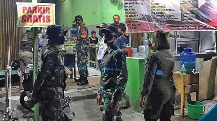 TIM URC Palangkaraya Ingatkan Pengelola Kafe Terapkan Protokol Kesehatan