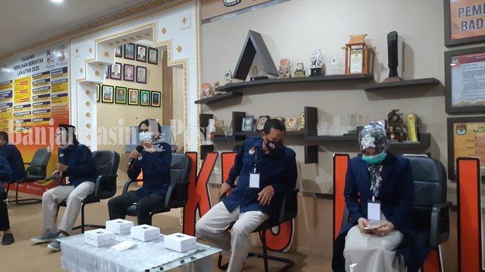 KPU Kalsel Upayakan Pemeriksaan Covid-19 Bagi 81.594 Petugas TPS