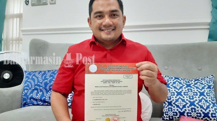 BREAKING NEWS: PDI-P Akhirnya Resmi Dukung Duet Sahbirin-Muhidin di Pilgub Kalsel 2020
