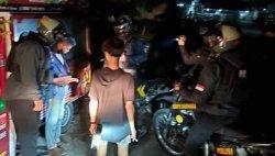 Patroli Polda Kalteng Amankan 5 Remaja Diduga Usai Pesta Narkoba di Kawasan Pasar Besar Palangkaraya
